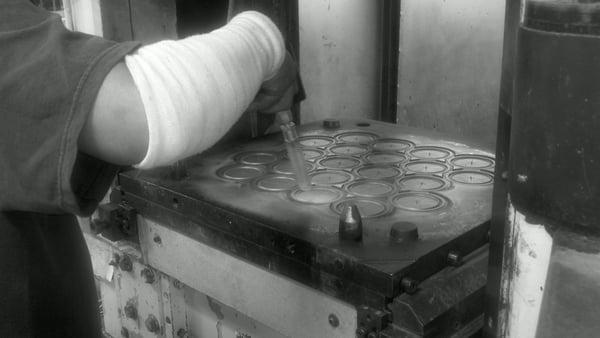 Trockeneisstrahlen Gummiformen