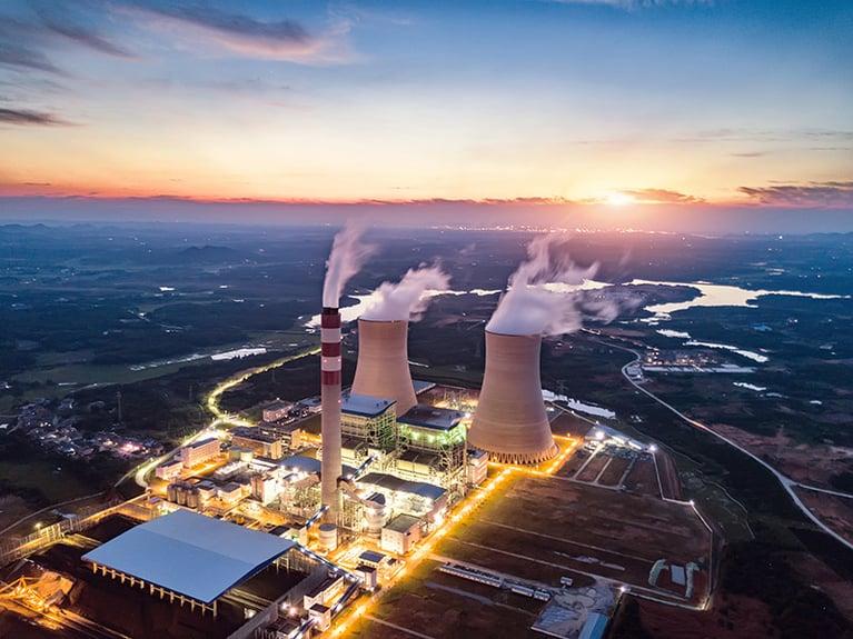 Limpeza de equipamentos de energia nuclear com gelo seco